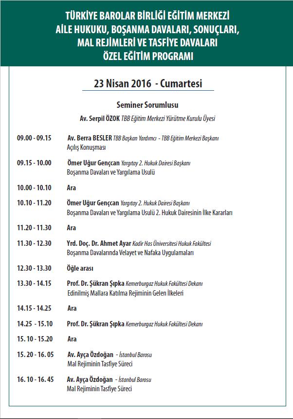23nisanaile-program