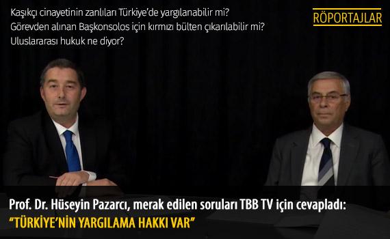 Prof. Dr. Hüseyin Pazarcı ile Röportaj