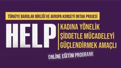 HELP Kadına Yönelik Şiddetle Mücadeleyi Güçlendirmek Amaçlı Online Eğitim Programı