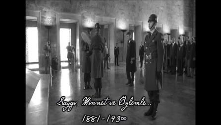 Büyük Önder Mustafa Kemal Atatürk'ü rahmet, saygı ve şükranla anıyoruz